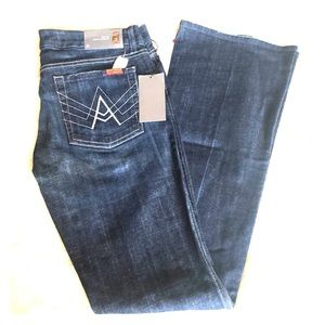 "7 for all mankind jeans 31 ""a"" pocket"